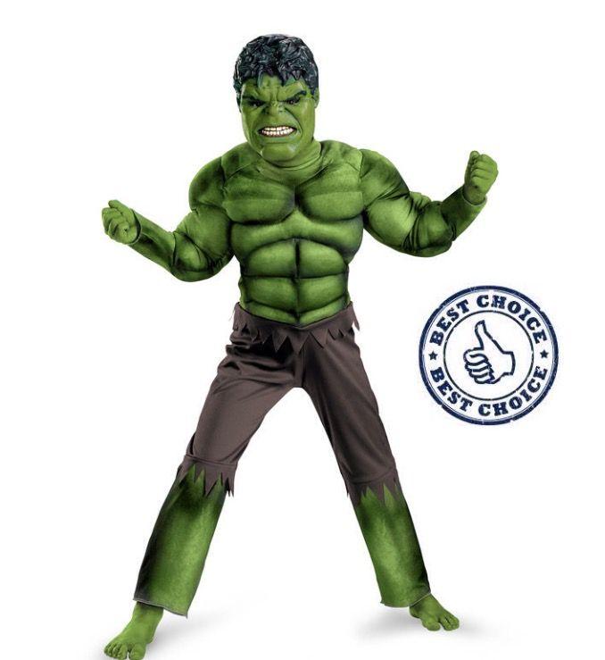Kinder kostuum de Hulk