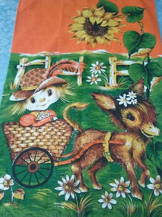 Check out this item in my Etsy shop https://www.etsy.com/au/listing/499116776/kitsch-girl-in-donkey-cart-tea-towel