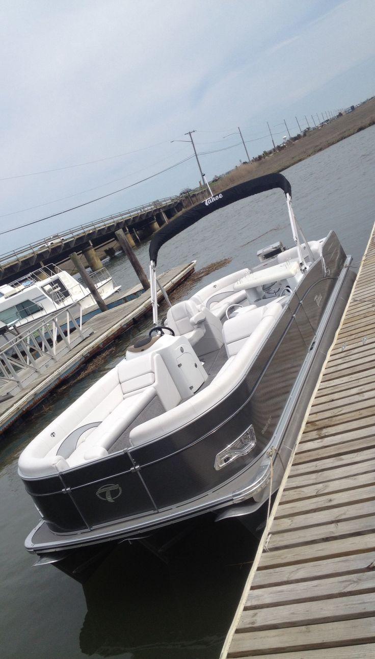 Tahoe Pontoon boats. Get your pontoon enclosure at http://north-american-waterway.com/boat-store/Pontoon-Enclosure