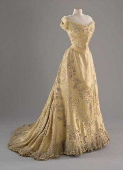 Edwardian evening gown.