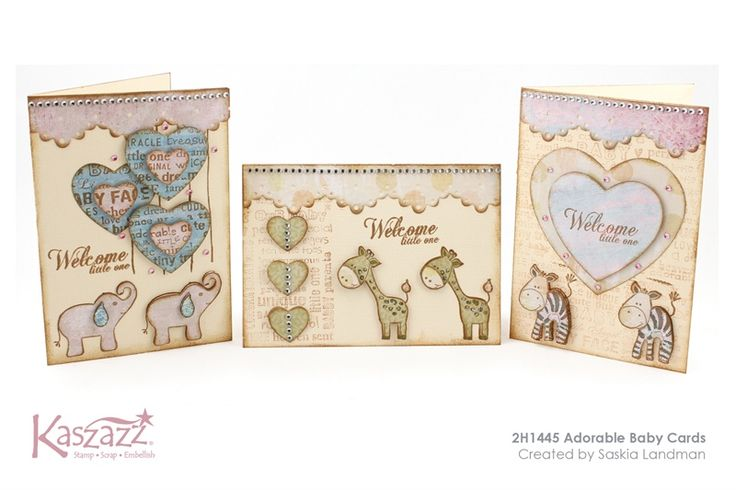 2H1445 Adorable Baby Cards