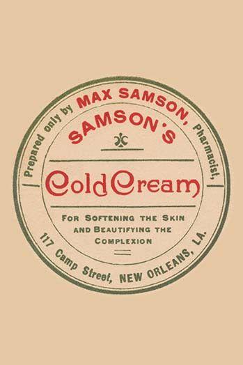 Samson's Cold Cream