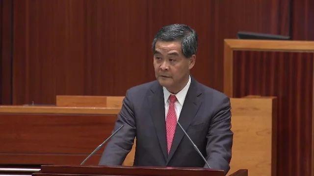 Hong Kong Chief Executive CY Leung: Hong Kong Will Work to Ban Ivory Trade on Vimeo