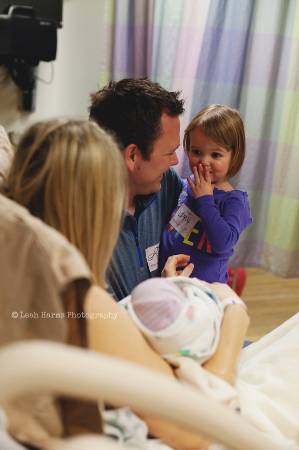 Birth Photography, Hospital session » Leah Harms Photography