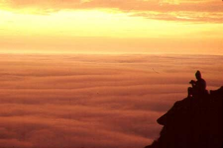Drakensberg @ sunrise, South Africa