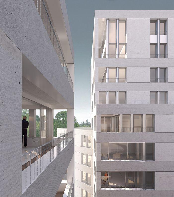 100 logements collectifs - Noisy-le-Grand : Nicolas Reymond Architecture & Urbanisme