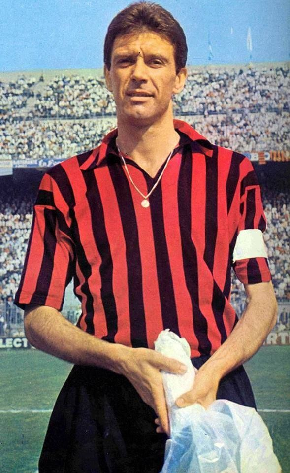 Cesare MALDINI; 1952–1954 Triestina ITA, 1954–1966 AC MILAN, 1966–1967 Torino ITA