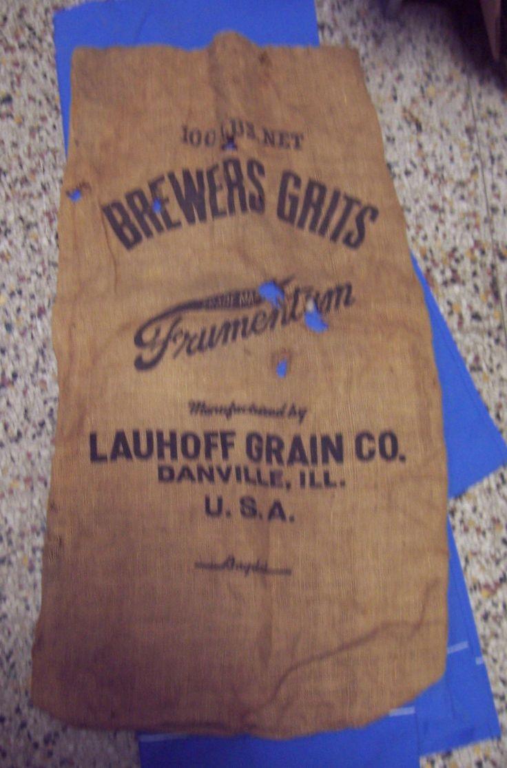 Illinois vermilion county muncie - Danville Illinois Lauhoff Grain Sack