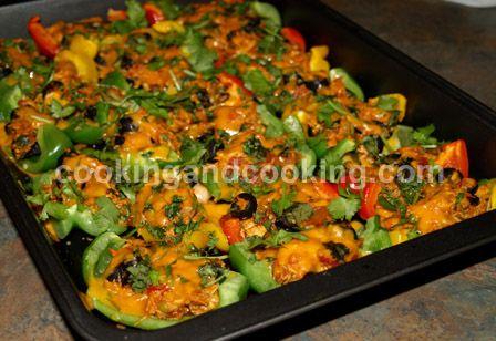 Bell Pepper Chicken Nachos Recipe