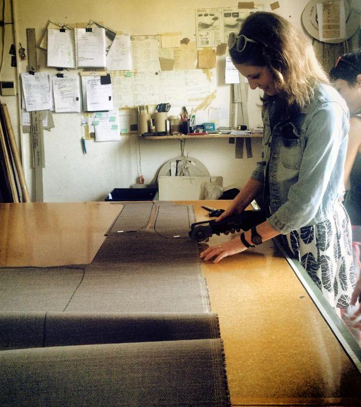Casa Flora Design-Apart workshop in BertO fine upholstery tailoring #Brianza #CFDAVenice