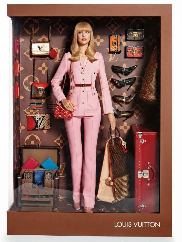 Elizabeth Erm, Magdalena Frackowiak by Giampaolo Sgura for Vogue Paris December:January 2014-2015 1