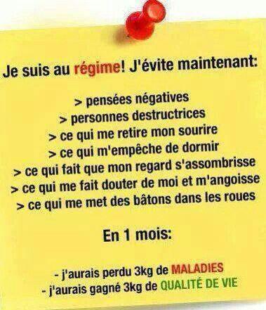 Citation régime  <3