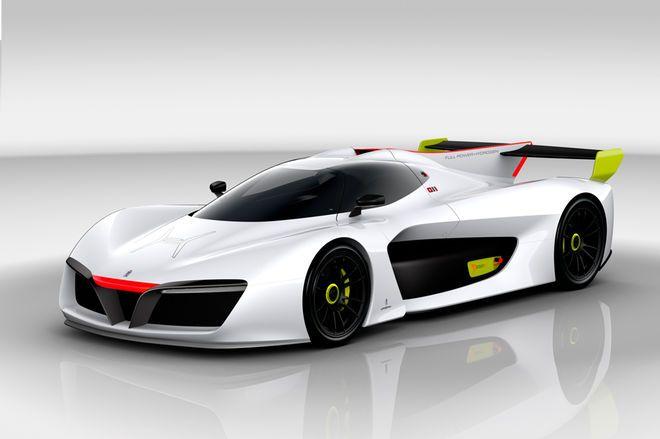 Pininfarina H2 Speed Concept front three quarter
