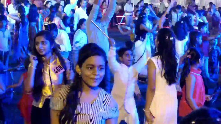 Dandiya dance by kids   dandia dance with dandiya sticks   dandiya raas