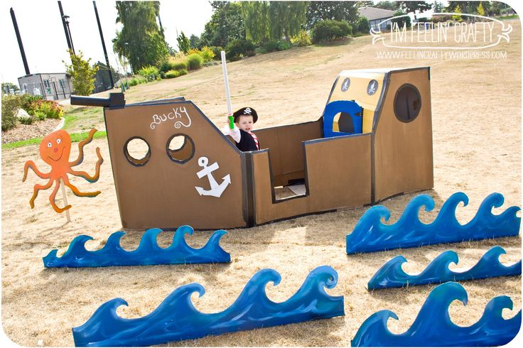 a Pirate Party by I'mFeelin'Crafty