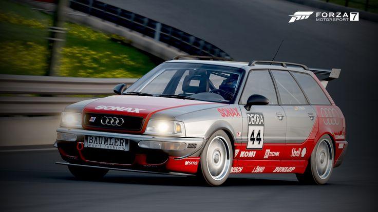 RACE][DewTune] Forza Motorsport 7 Liveries - M6 GT3 and Scirocco ...  Replica Race Livery 1995 Audi RS2 Avant DTM Replica 1992 BMW M3 E30 Replica DTM Livery