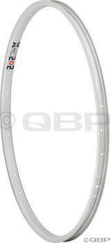 """Alexrims X202 26"""" 36h Mountain Bike Rim Silver"""
