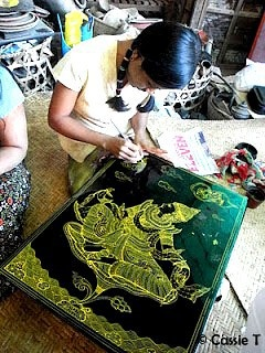 The delicate art of traditional lacquerware - Myanmar  www.visitmm.com