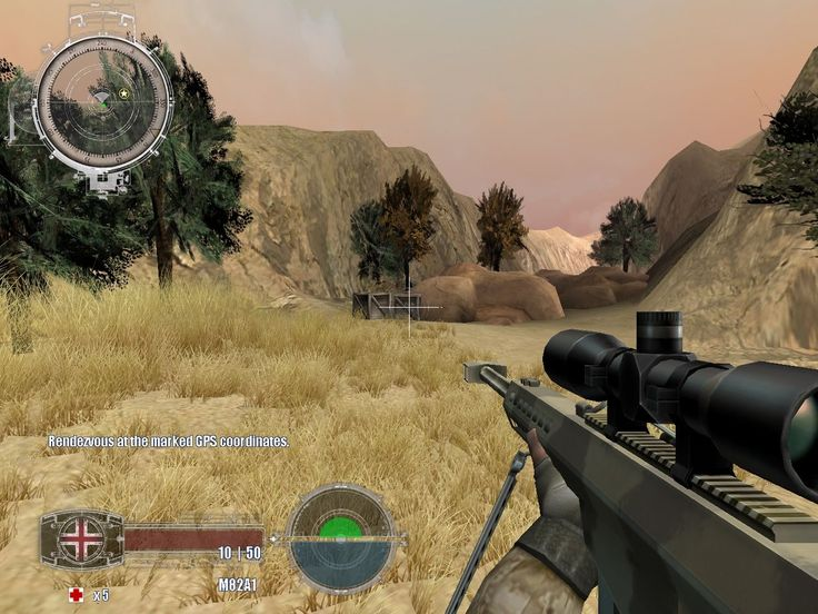 Marine Sharpshooter 4 Game Screenshots