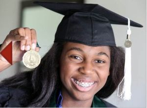 14 Year-Old Thessalonika Arzu-Embry To Earn Bachelor's Degree in Psychology from Chicago State University