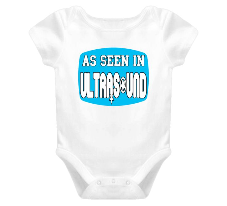 Baby Ultrasound Boy Baby One Piece