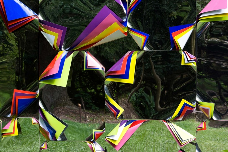 FOREST  Last chance to see this work by Jim Lambie and many others as Jupiter Artland closes after 16th September.