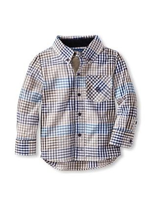 63% OFF Andy & Evan Boy's 2-7 Check Please Shirt (Medium Beige)