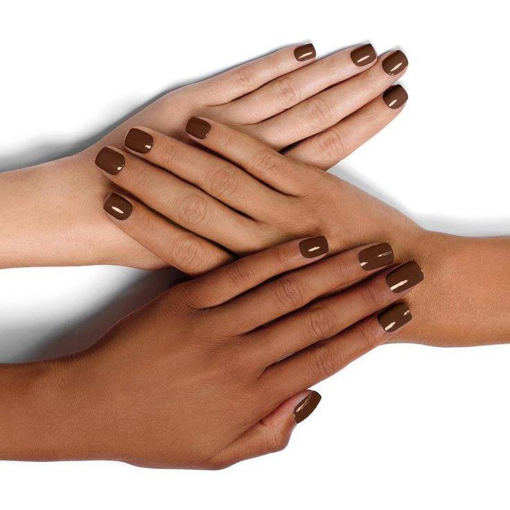 Broccoli & Chocolate – Chocolate brown nail polish – KL Polish