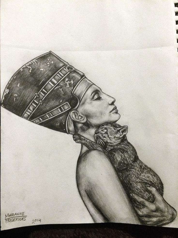 Nefertiti by mariannefredericks