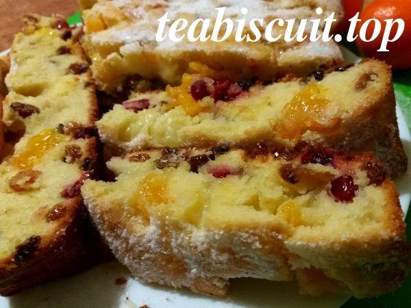 Рождественский кекс с мандаринами - рецепт с фото. Пошаговое описание рецепта. Очень вкусный кекс-пирог к праздничному столу.
