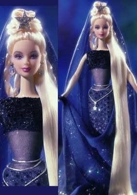 Barbie Celestial Star/One of my heroes is Barbie. She may not do anything, but she always looks great doing it.