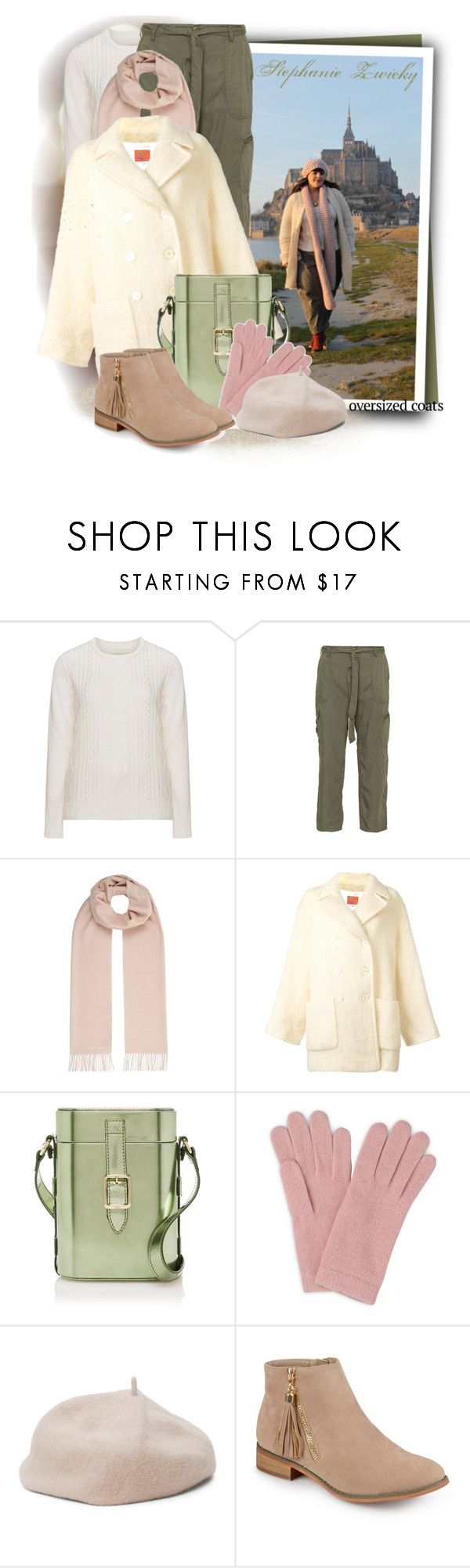"""Kenzo Vintage double breasted coat"" by tasha1973 ❤ liked on Polyvore featuring Zizzi, Weekend Max Mara, Kenzo, L.K.Bennett, Journee Collection and vintage"