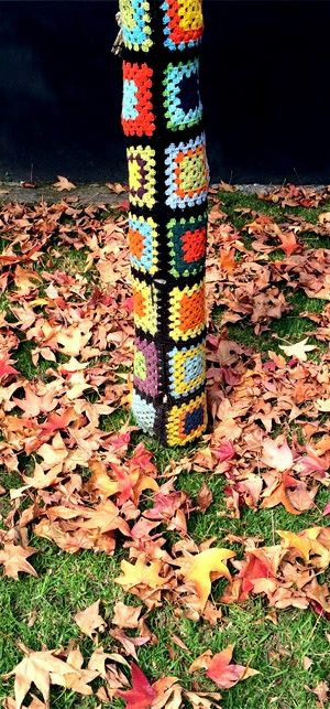 Yarn Bombing | Fall / Otoño