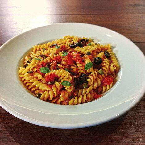 mmmm Fussilli alla Siciliana!! :D #ReciénHechos