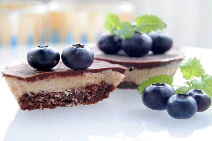 Raw choklad - banan & jordnötscheesecake - Passion för Choklad