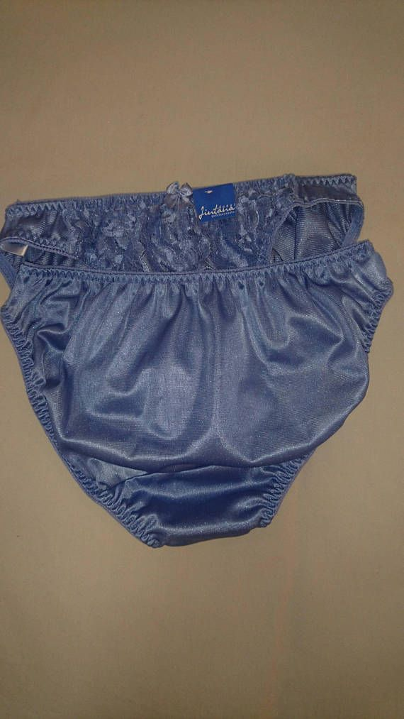99999fc161 Set of Two (2) Vintage pairs of NWT Nylon Bikini Panties by Jintana Lingerie  in size 10-12 Aus UK and 5-6 US