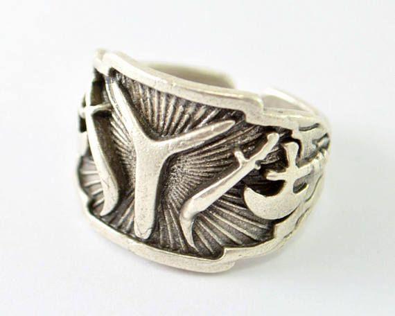 turkish han symbol ring kayi ring ottoman empire ring