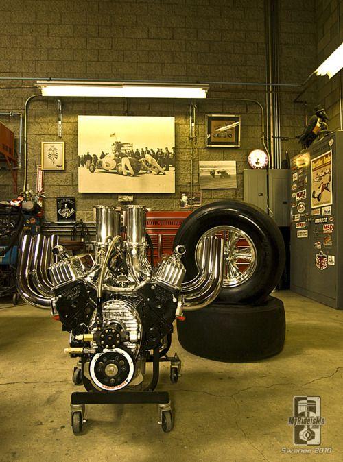 BB drag motor