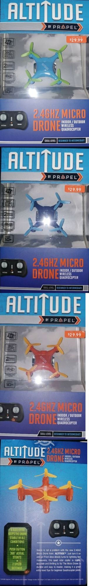 Radio Control 51029: Lot Of 6 Altitude Micro Rc Drones Rtr!?? Quality 6 Axis 2 Speed Quadrocopters! -> BUY IT NOW ONLY: $65.49 on eBay!