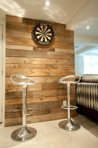 Vicky's Home: 15 Ideas para paredes de palets de madera / 15 Wood Pallet wall Ideas                                                                                                                                                      Más