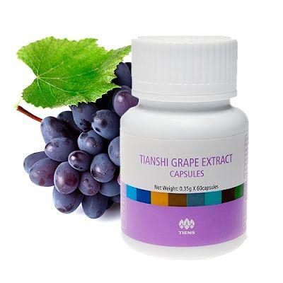 Tienshi vigoros Grape Extract Capsules - Tiens BD Product Price List