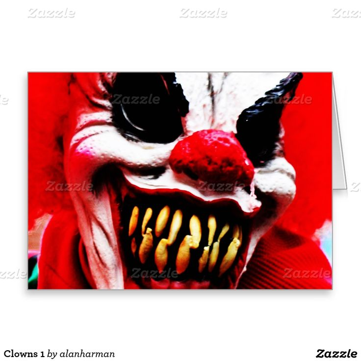 Clowns 1 greeting card