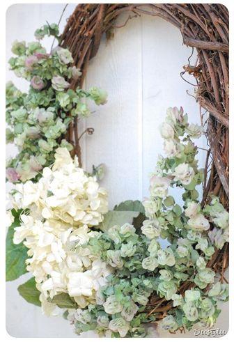 wedding wreath for door