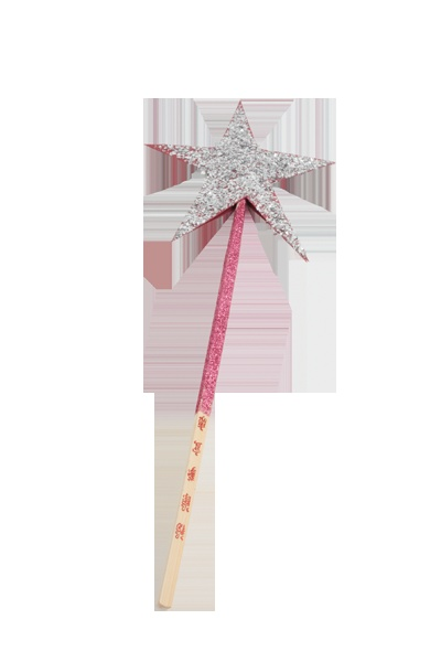 Another party craft idea: Chopstick wand featured in the book/kit Green & Groovy Crafts: Fairy Crafts