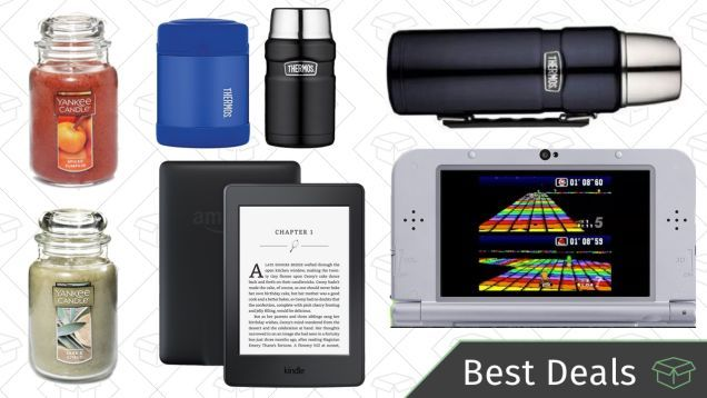 Monday's Best Deals: Amazon Kindles Yankee Candles Nintendo 3DS Super NES Edition and More