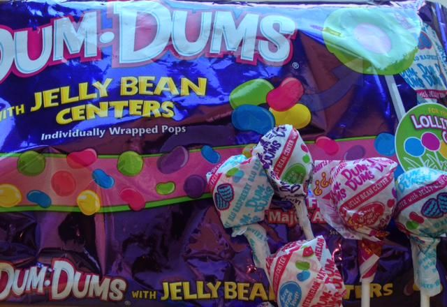 Jelly Beans and Dum Dums!  Pure Magic!