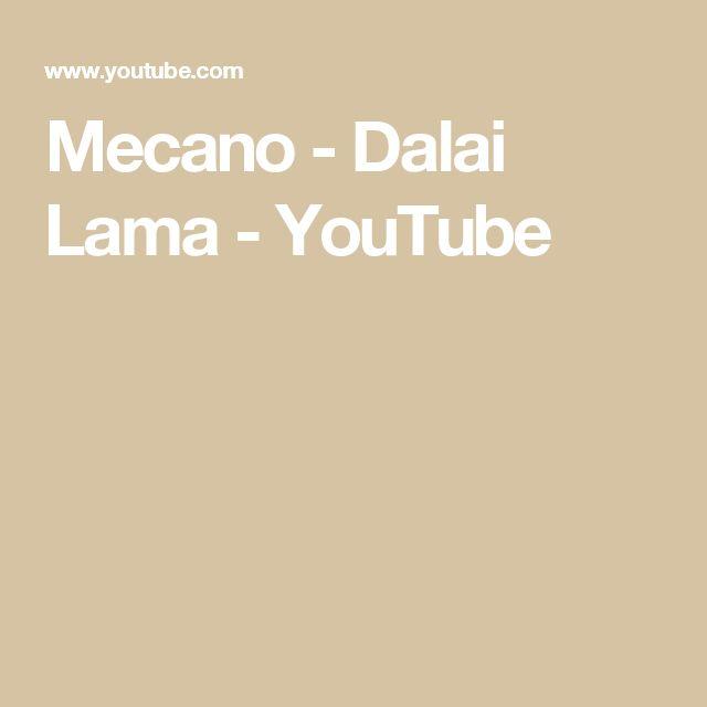 Mecano - Dalai Lama - YouTube