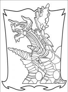 Imagens para pintar dos Power Rangers - 72