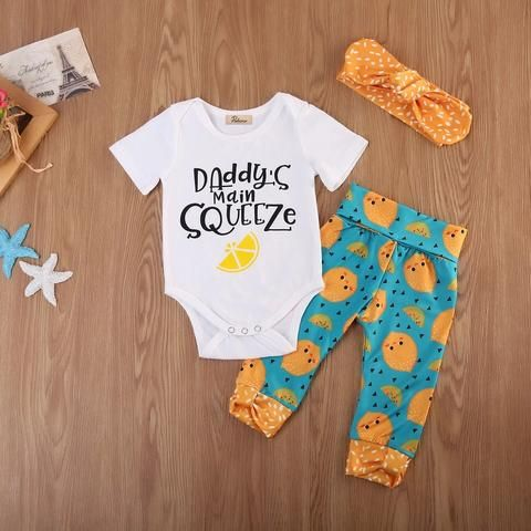 Daddy's Main Squeeze 3 Piece – Baby Daisy Boutique