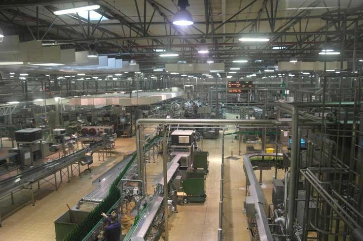 The packaging plant at Pilsner Urquell, the largest of its kind in the country, can produce 60,000 bottles of beer per hour.